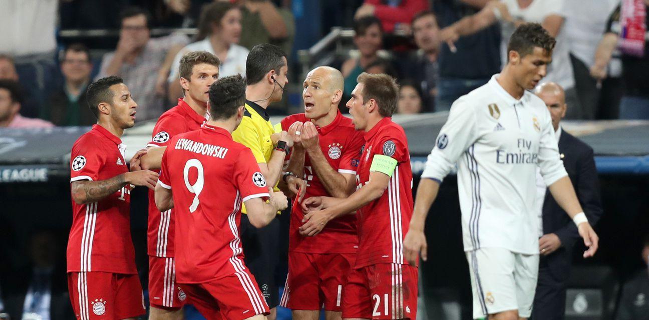 Igrači Bayerna poludjeli na suca Kassaija (Foto: Mike Egerton/Press Association/PIXSELL)