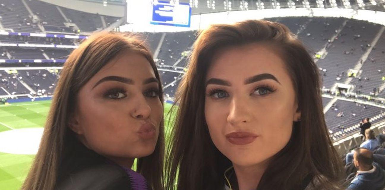 Navijačice Tottenhama (Foto: Twitter)
