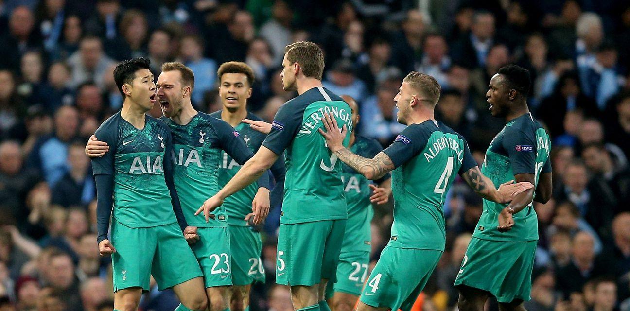 Slavlje Tottenhama (Foto: Nigel French/Press Association/PIXSELL)