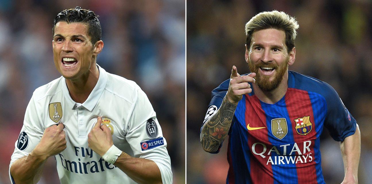 Cristiano Ronaldo i Messi (Foto: AFP)