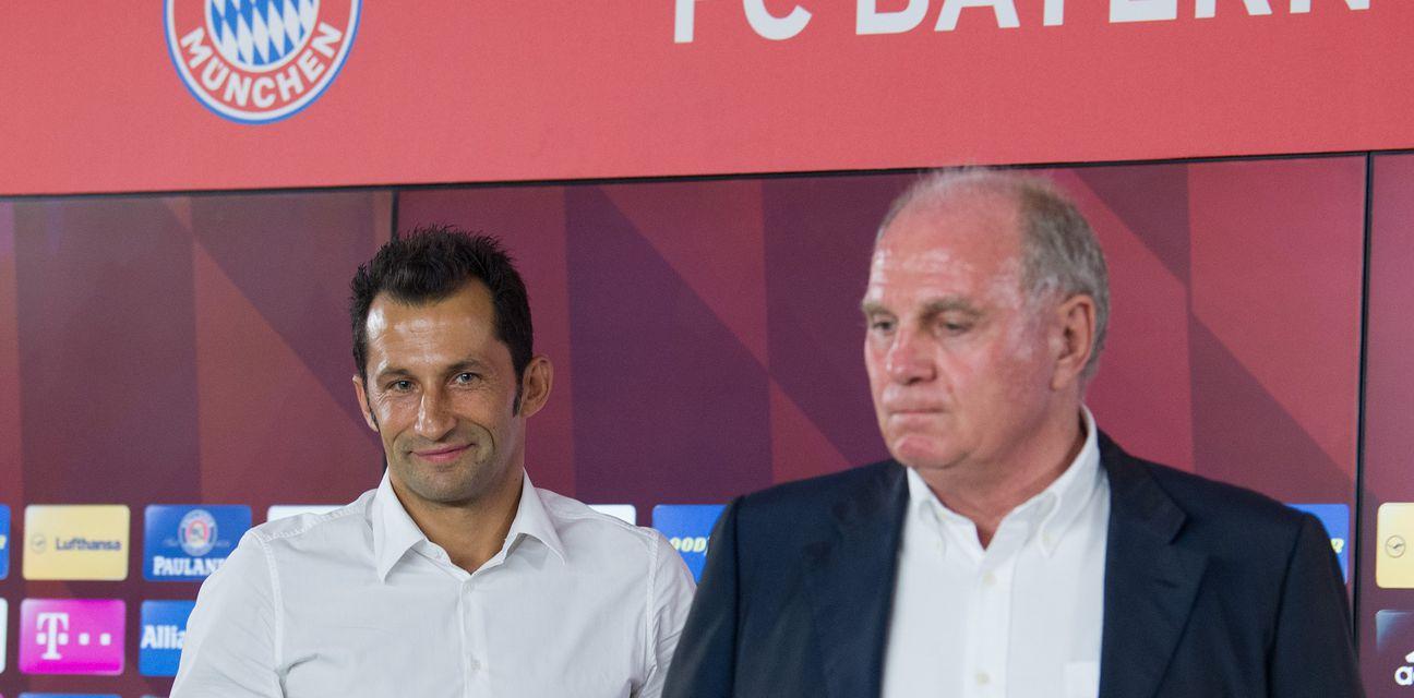 Hasan Salihamidžić i Uli Hoeness (Foto: AFP)