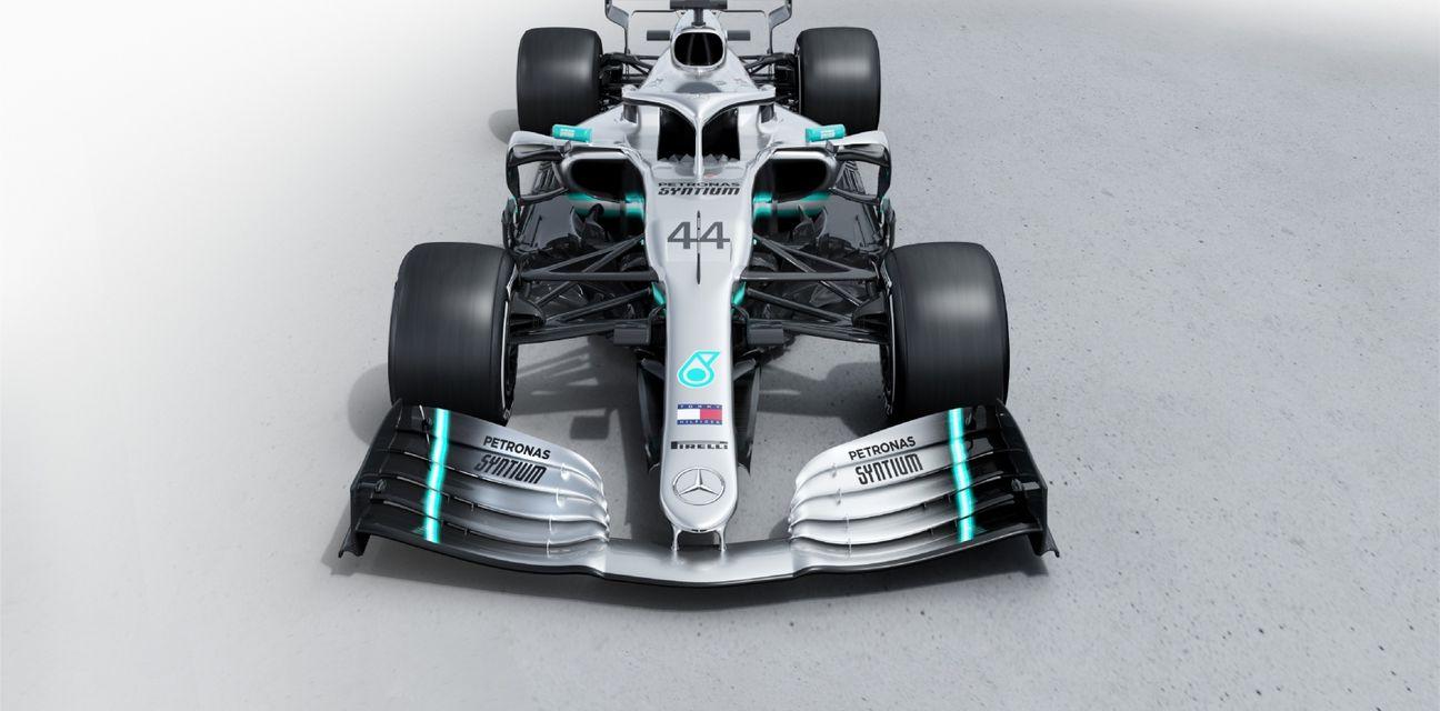 Mercedesov bolid za 2019. godinu (Foto: AMG Petronas Motorsport/DPA/PIXSELL)