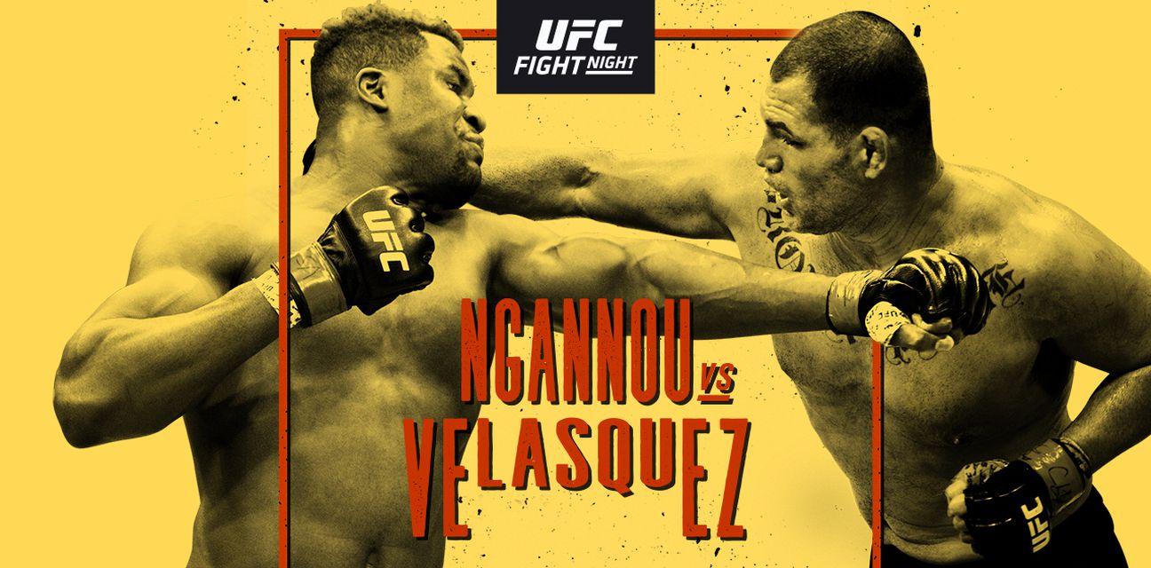 UFC Fight Night: Velasquez vs. Ngannou