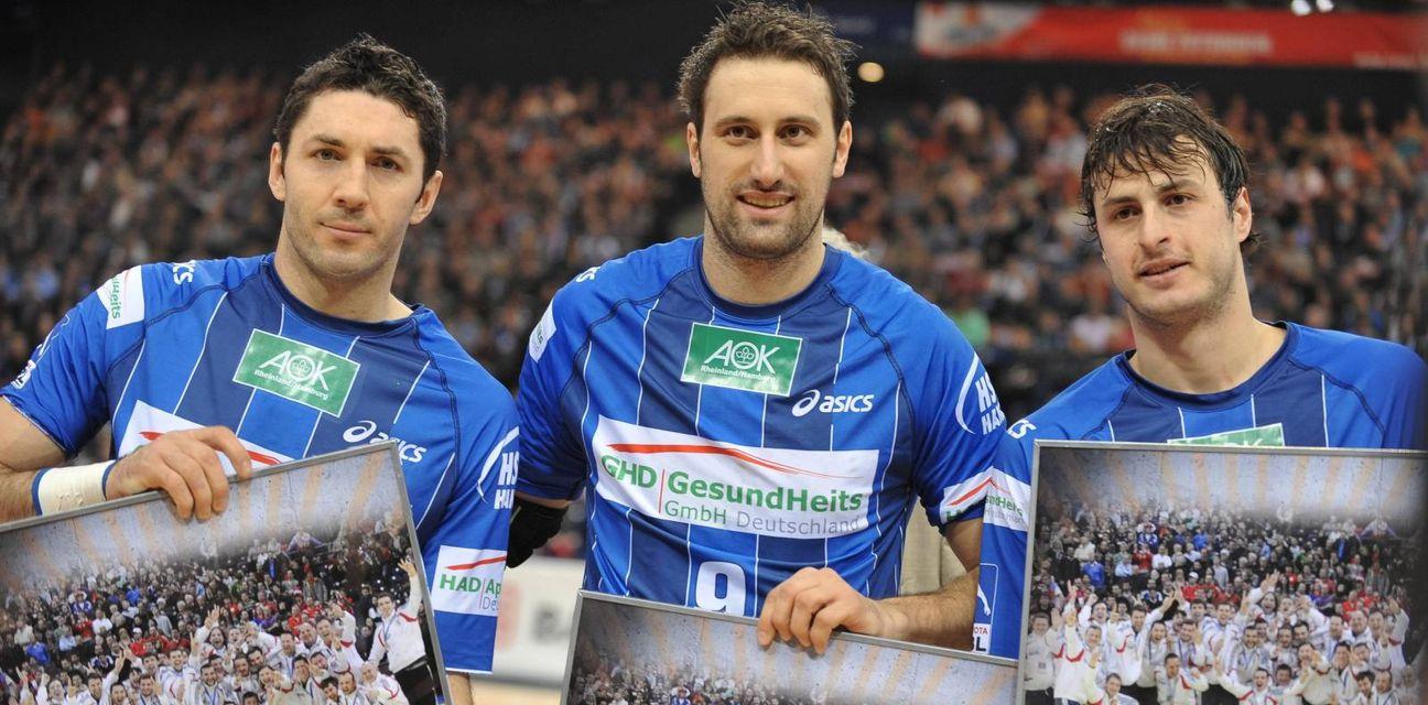 Blaženko Lacković, Igor Vori i Domagoj Duvnjak (Foto: nph/NordPhoto/PIXSELL)
