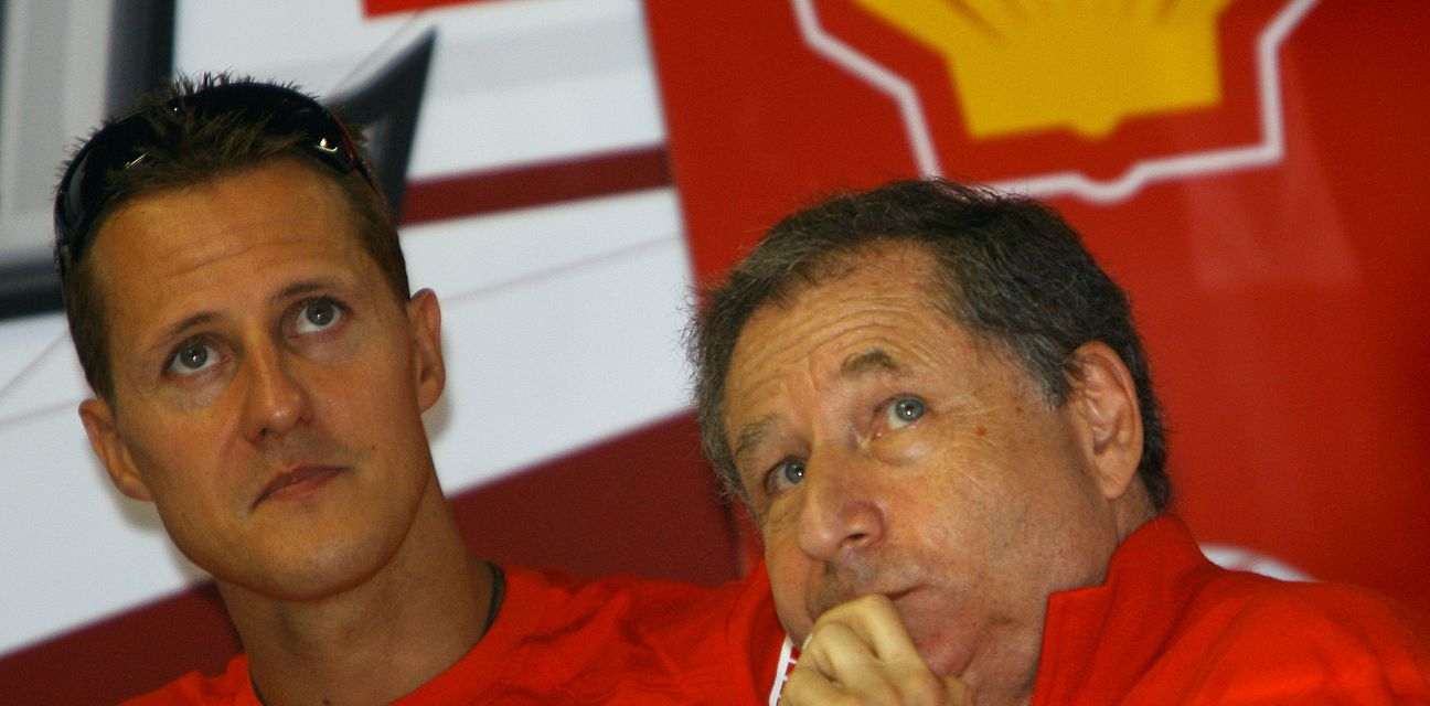 Jean Todt i Michael Schumacher (Foto: AFP)