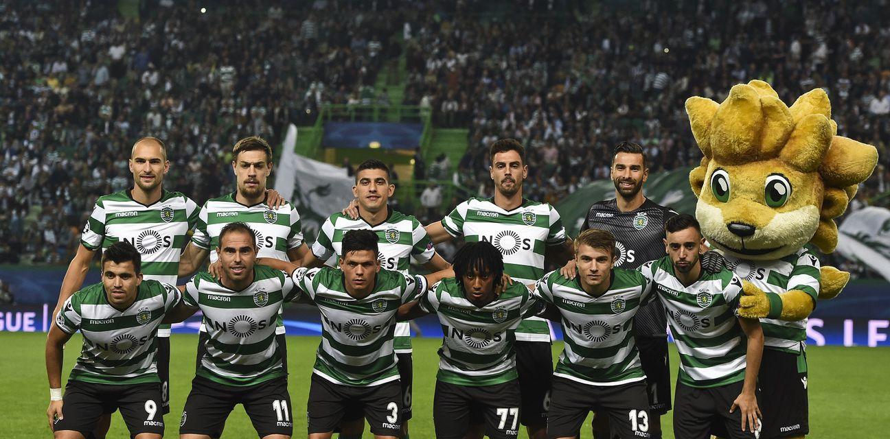 Momčad Sportinga (Foto: AFP)