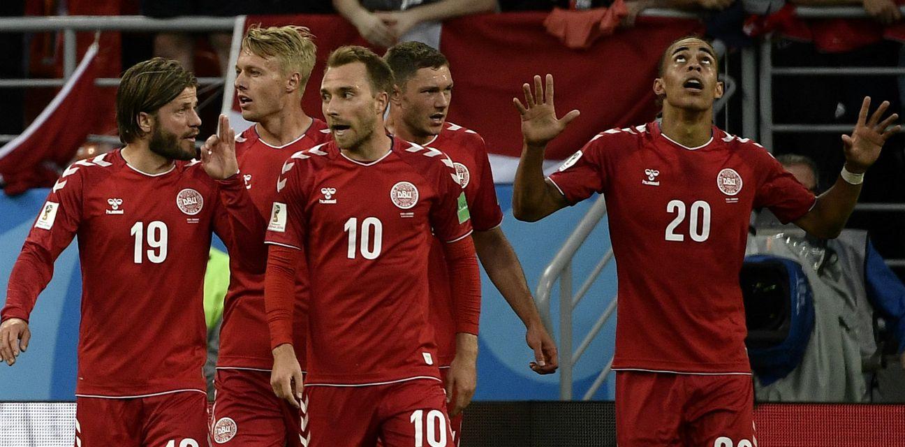 Slavlje Danske (Foto: AFP)