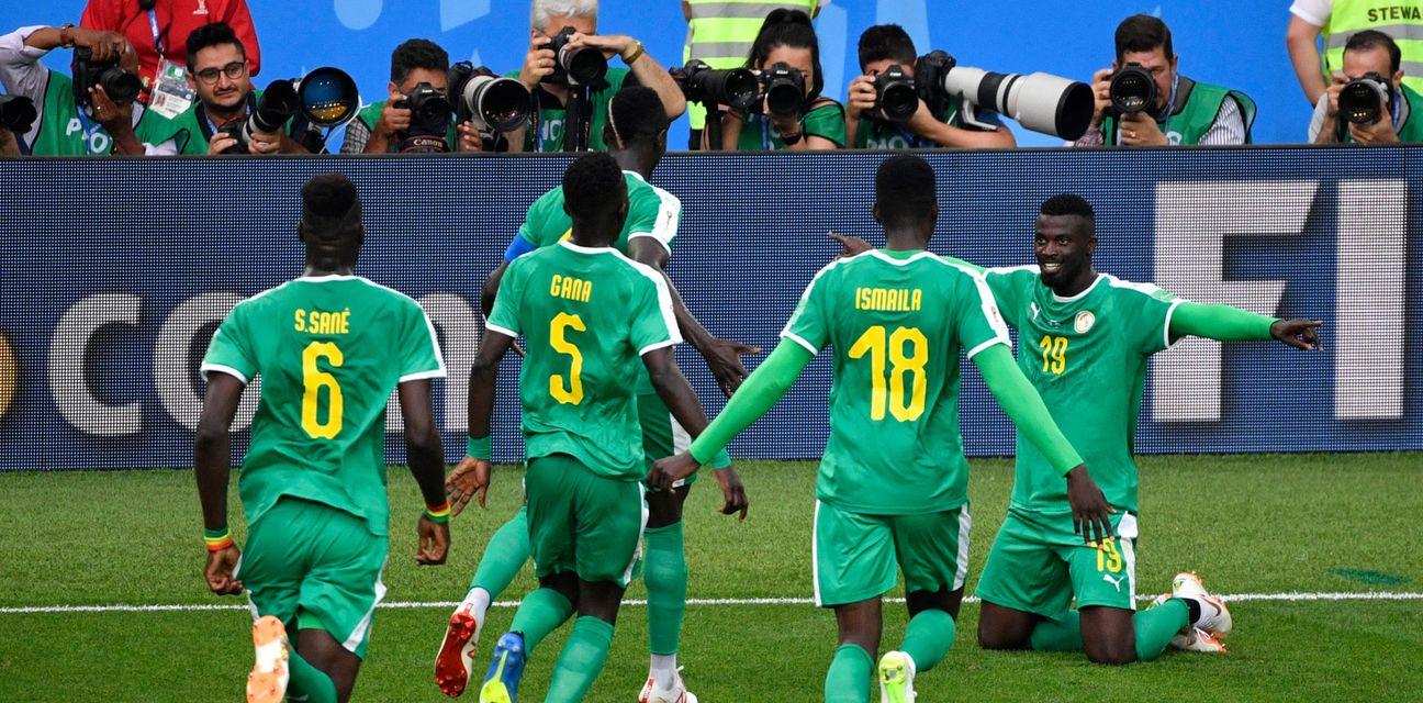 Slavlje Senegala (Foto: AFP)
