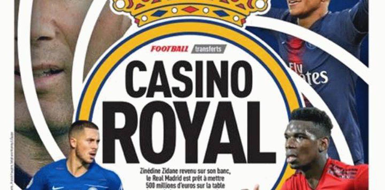 \'\'Casino Royal\'\' u Madridu (L\'Equipe)