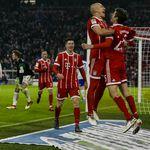 Arjen Robben, Thomas Muller, Robert Lewandowski i Franck Ribery
