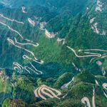 Tianmen Mountain Road, Kina - 2