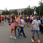 Hrvatska navijačica Ivana u Moskvi