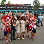 Hrvatski navijači u Moskvi