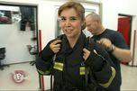 Naša novinarka na vatrogasnoj obuci!