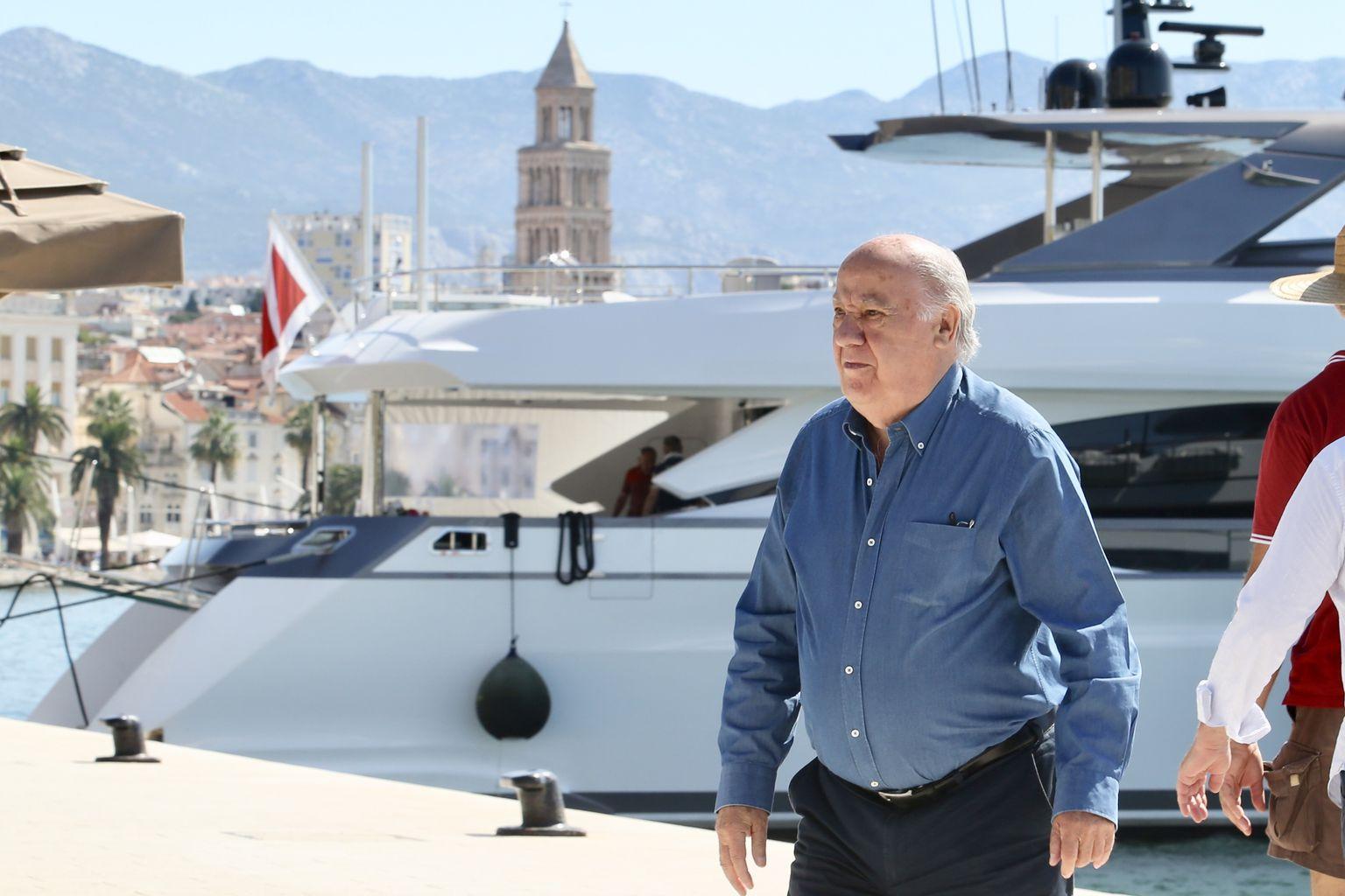 Amancio Ortegao stigao u Split
