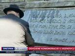 Odvojene komemoracije u Jasenovcu (Video: Dnevnik Nove TV)