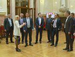 Hrvatska delegacija u posjetu Narodnoj skupštini Srbije (Foto: Dnevnik.hr)