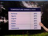 Stiže kišna fronta (Video: Dnevnik Nove TV)