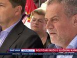 Političari kreću u službenu kampanju (Video: Dnevnik Nove TV)