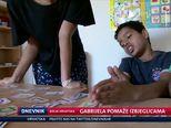 Gabrijela pomaže izbjeglicama (Video: Dnevnik Nove TV)