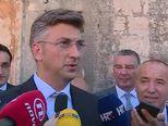 Andrej Plenković o početku predizborne kampanje HDZ-a na Hvaru i brojnim drugim aktualnostima
