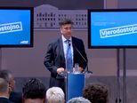 Plenkovićeva poruka na kraju predstavljanja izbornog programa HDZ-a