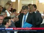 HDZ predstavio program (Video: Dnevnik Nove TV)