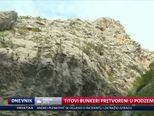 Titovi bunkeri pretvoreni u podzemni grad (Video: Dnevnik Nove TV)