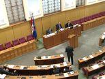 Izlaganje Željka Glasnovića u Saboru (Video: dnevnik.hr)