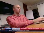 Internet u Hrvatskoj među lošijima u Europi (Video: Dnevnik Nove TV)