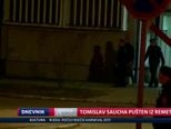 Tomislav Saucha pušten iz Remetinca (Video: Dnevnik Nove TV)