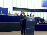 Plenkovićev govor pred parlamentom EU (Video: Dnevnik Nove TV)
