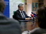 Konferencija za medije ministra Štromara (Foto: Dalibor Urukalovic/PIXSELL)