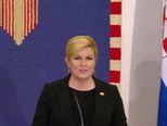 Izjava predsjednice Kolinde Grabar-Kitarović nakon sastanka s Aleksandrom Vučićem (Video: Dnevnik.hr)