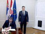 Aleksandar Vučić i Andrej Plenković (Foto: Pixell)
