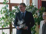 Aleksandar Vučić u školi u Vrginmostu (Foto: Dnevnik.hr)