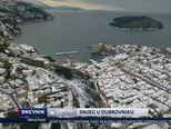 Snijeg u Dubrovniku (Video: Dnevnik Nove TV)