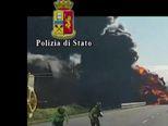 Prometna nesreća u Italiji (Video: APTN)