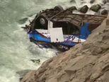 Stravična nesreća u Peruu (Video: APTN)