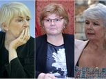 Sanja Sarnavka, Nada Murganić i Jadranka Kosor (Foto: Pixsell)