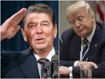 Ronald Reagan i Donald Trump (Foto: AFP)