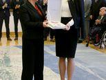 15. studenog 2017. uručila priznanja iz područja društvenih djelatnosti (Foto: Dalibor Urukalovic/PIXSELL)