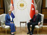9. siječnja s Erdoganom u Turskoj (Foto: AFP)