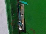 Vrata stana na 14. katu (Foto: Dnevnik.hr)
