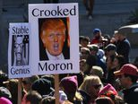 Prosvjed protiv Trumpa u Los Angelesu (Foto: AFP)