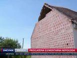 Proglašena elementarna nepogoda (Video: Dnevnik Nove TV)