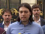 Ivan Vilibor Sinčić održao press konferenciju o vodstvu Živog zida (Video: Dnevnik.hr)