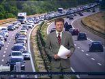 Gužve u prometu (Video: Vijesti u 17h)