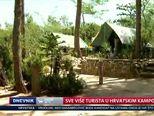 Hrvatski kampovi bilježe sve više noćenja, dosad više od 7,5 milijuna (VIdeo: Dnevnik Nove TV)