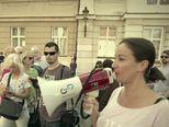 Prosvjed za zakon o koncesijama (Video: Provjereno)